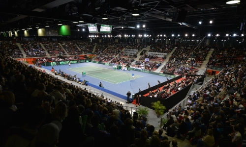 Places Coupe Davis Rouen (France Grande-Bretagne)