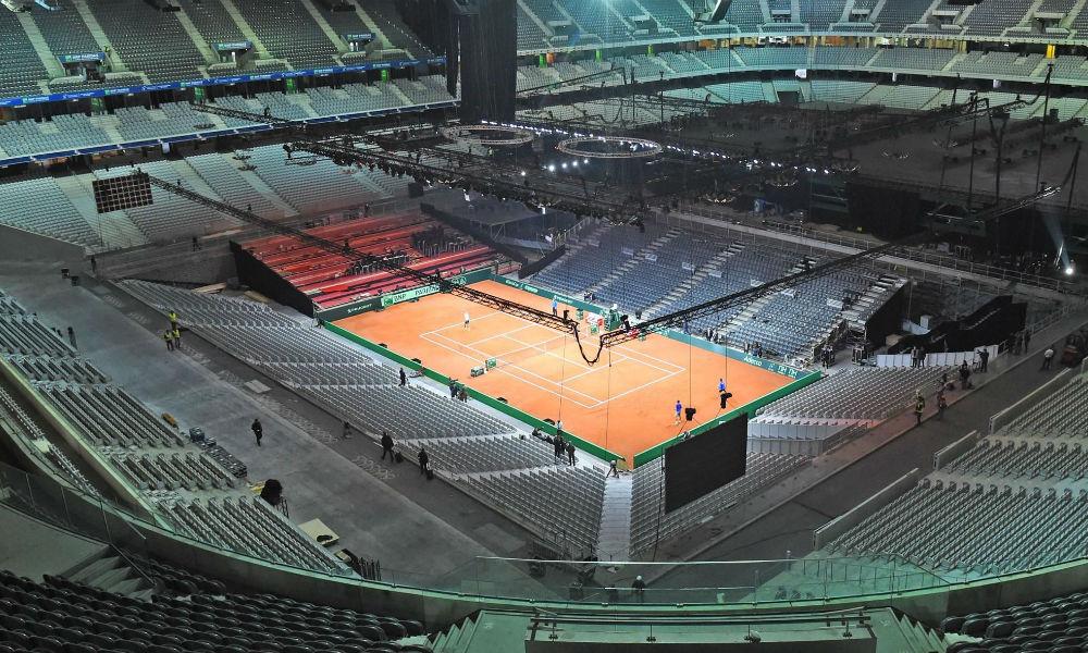 Places Coupe Davis Lille (France Serbie)