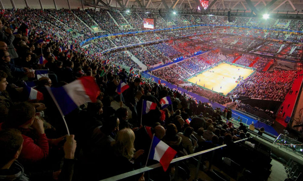 Places Coupe Davis Demi Finale France Espagne