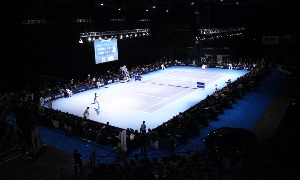 Places Open de Tennis de Caen
